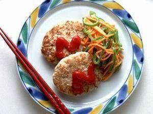 豆腐ハンバーグ | 夏梅美智子さんのレシピ【オレンジページnet】プロに教わる簡単おいしい献立レシピ (3546)