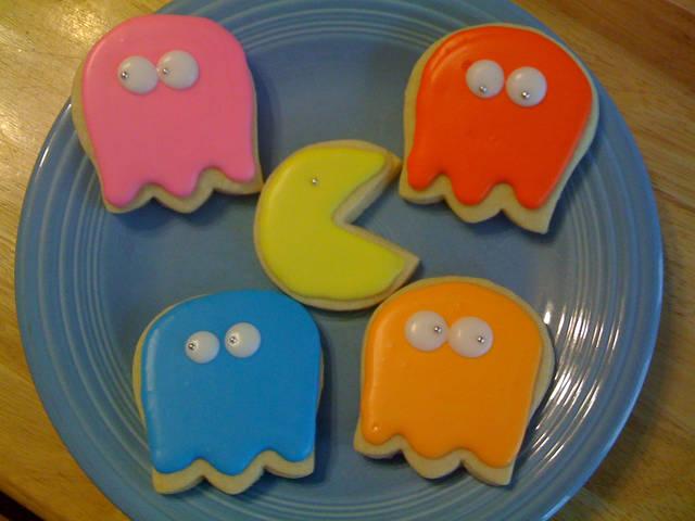 パックマンのクッキー