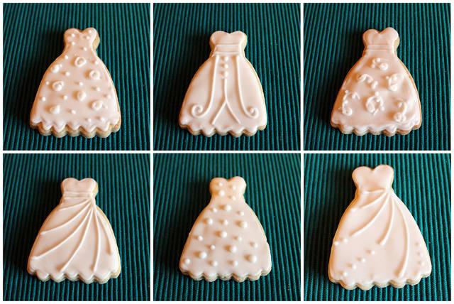 ドレスのクッキー型