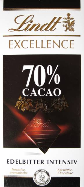 Lindt Excellence 70% Cacao ...