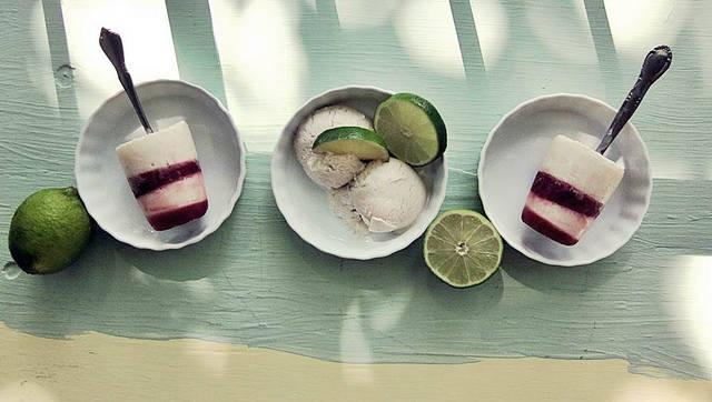 lime pom ice cream pops   Flickr - Photo Sharing! (6666)