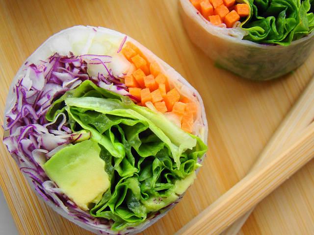 Veggie Rolls | Flickr - Photo Sharing! (8191)