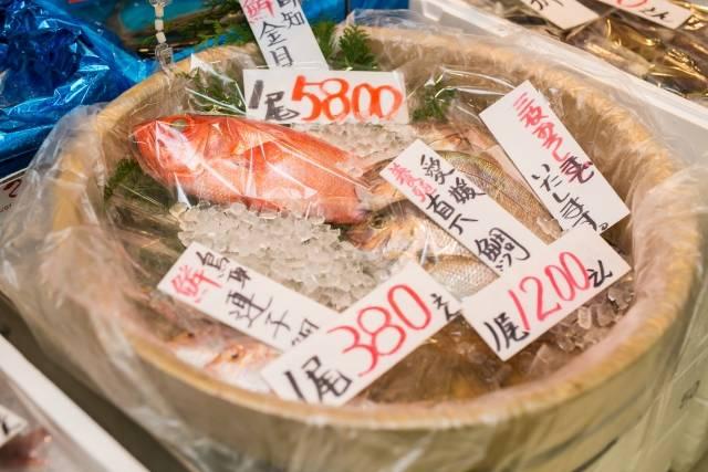 ぴちぴち新鮮な魚が安い!