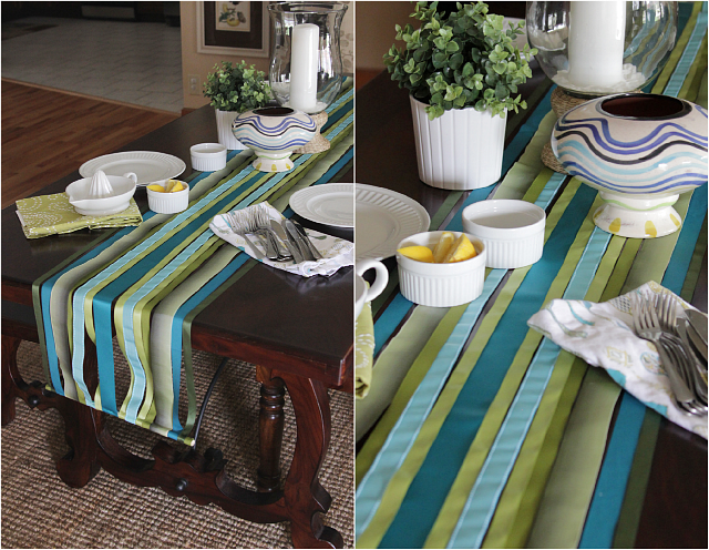 DIY Ribbon Table Runner - Decor Fix (15014)