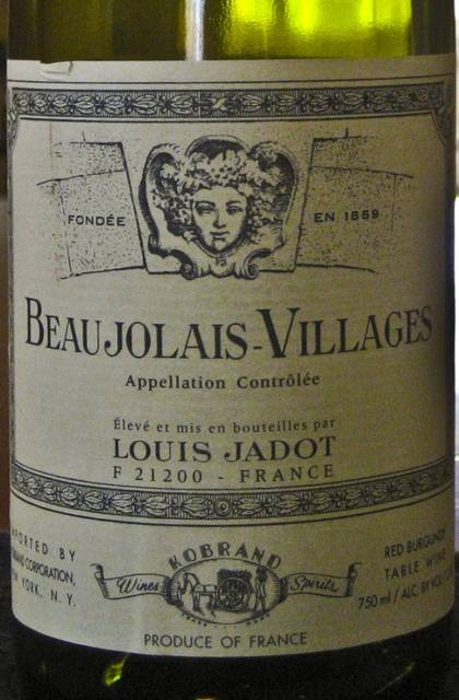 Louis Jadot Beaujolais-Villages (2006) by Mary Witzig (15676)