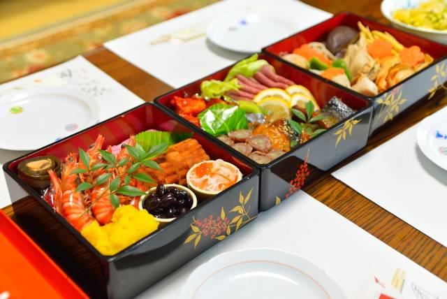 Osechi Is A Traditional Meal Eaten On New Year In Japan. Stock Photo 466414154 : Shutterstock (30521)