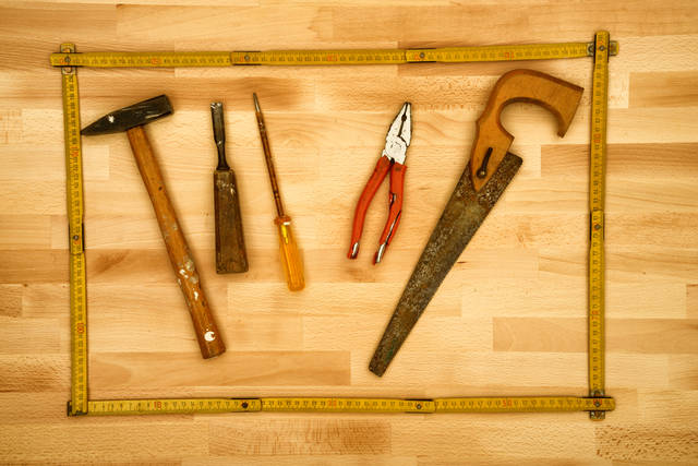 Hand Work Tools Stock Photo 439535611 : Shutterstock (30535)