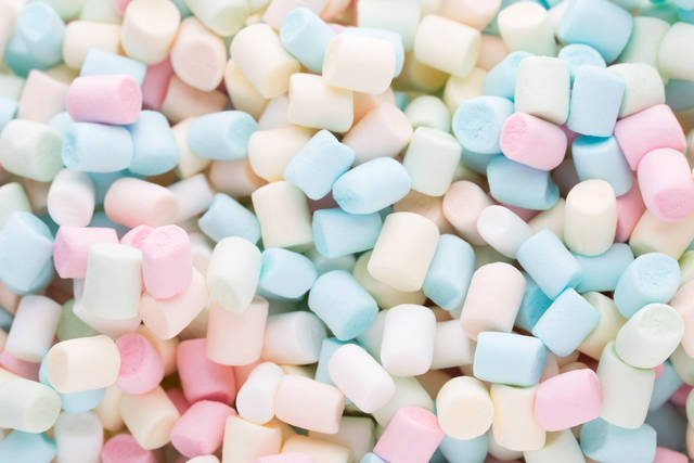 Marshmallows. Background Or Texture Of Colorful Mini Marshmallows. Stock Photo 432134737 : Shutterstock (30544)