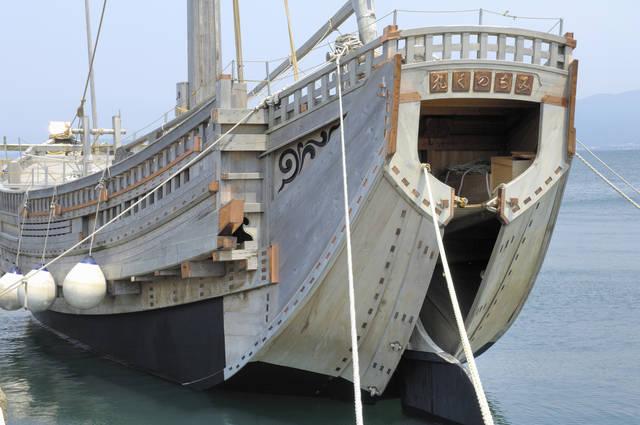 江戸から明治初期に活躍した北前船