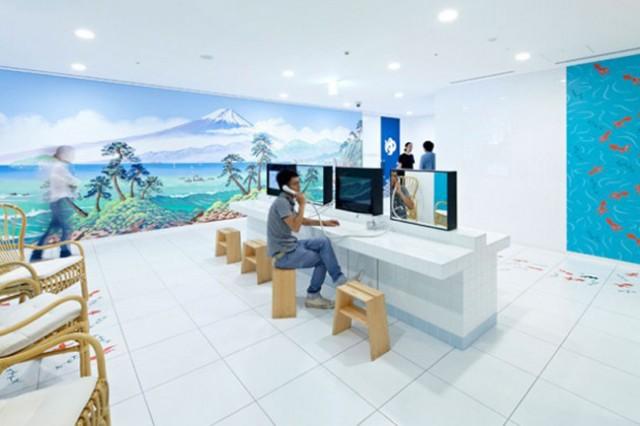 東京・六本木のGoogleに潜入!斬新「和」オフィスまるごと拝見【動画あり】
