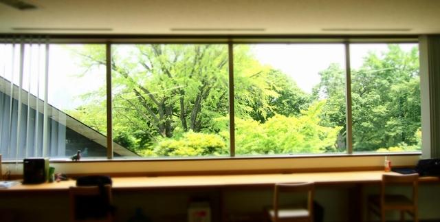 根津美術館の風景がオフィスから見える『Hatena』の美しきデザイン