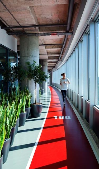 生産性のために「フィットネス」を完備したハイテク企業オフィスの実態