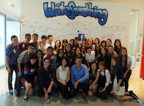"""Singapore """"facebook""""オフィスはリラックスした楽しいオフィス環境を追求していた!"""