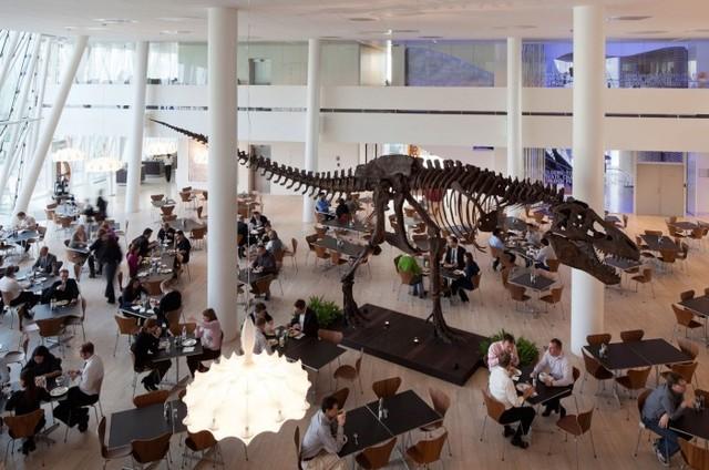 まるで博物館と美術館を取り入れたSaxo Bankのコペンハーゲンオフィス!!