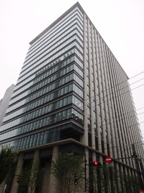 博報堂旧本館跡に再開発された大規模オフィスビル