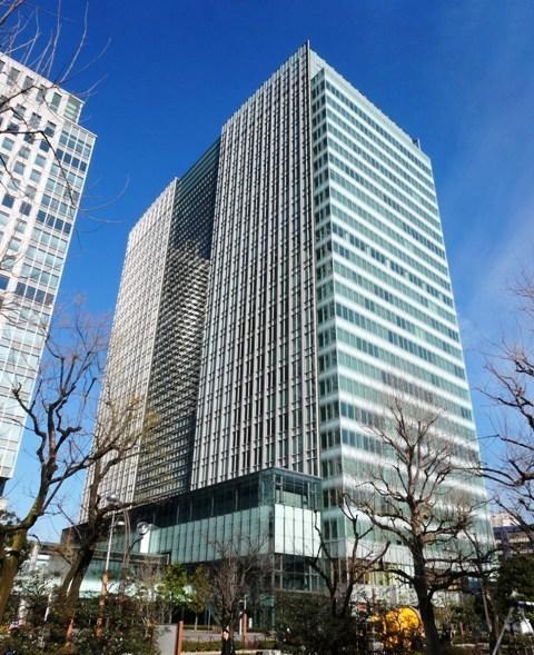 汐留ビル~二つの離宮庭園の眺望を堪能できる至高のオフィスビル!