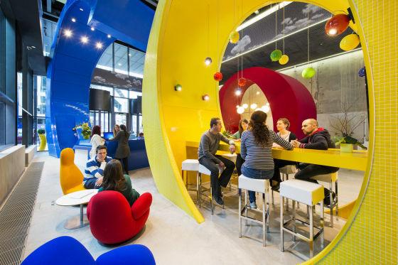 色鮮やかなGoogleオフィスで学ぶ色彩心理♪