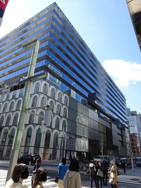 GINZA SIX(ギンザシックス)~21世紀最大の東京銀座のランドマークが誕生!