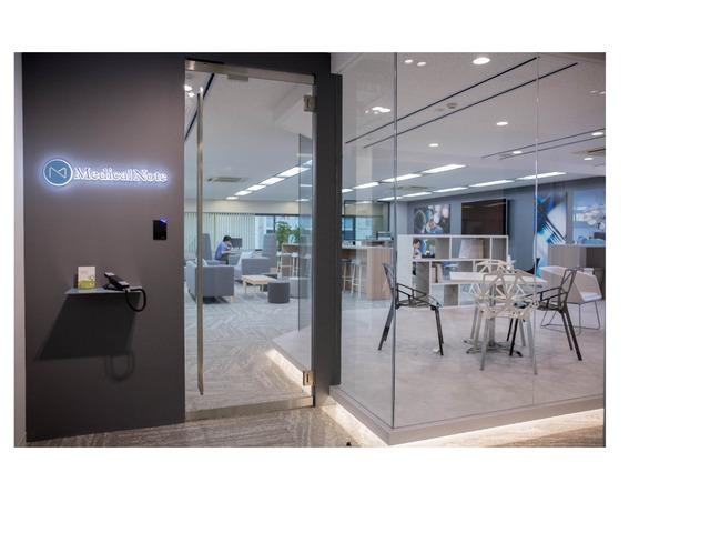 医療の未来に貢献したい。株式会社メディカルノートの洗練されたオフィスに行ってきました!