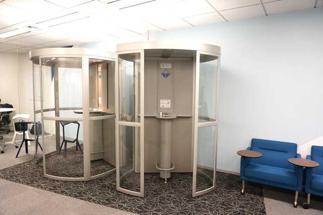 1オフィスに1台!クリーンエア・スカンジナビアの分煙キャビン!