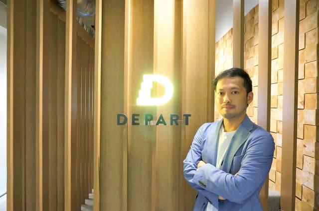 「想うこと」を企業理念にクリエイティブなデザインをサービスする株式会社デパートのオフィス