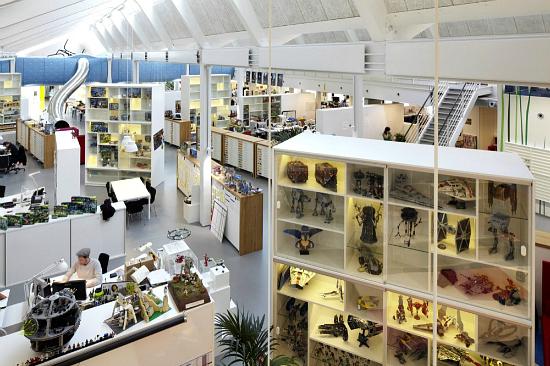 遊びゴコロ満載♡デンマーク発『LEGO』のオフィスデザイン