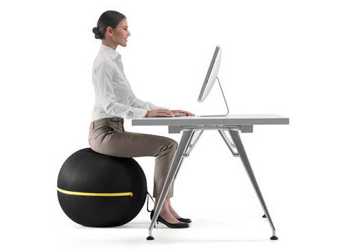 オフィスワーカーが椅子代わりに使えるバランスボール『Technogym Wellness Ball – Active Sitting』 «  Instrumental™ (1526)