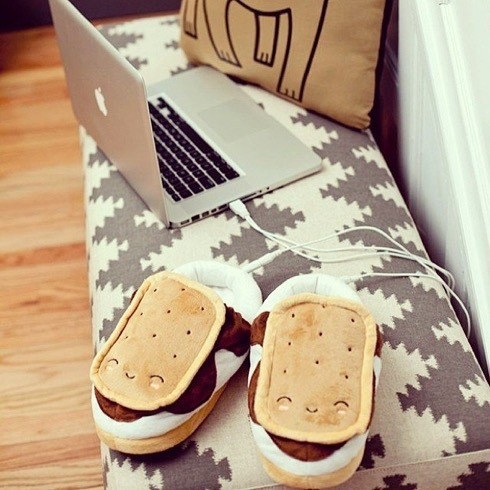 Fancy - S'mores USB Foot Warmers (2598)