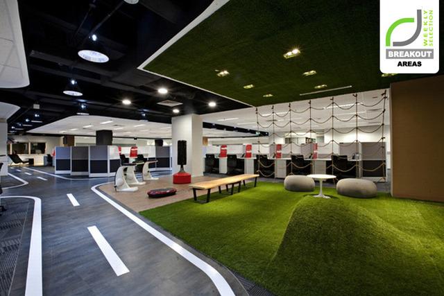 BREAKOUT AREAS! SingTel call centre by SCA Design, Singapore »  Retail Design Blog (3008)