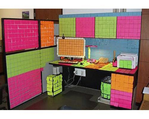 April Fool's at the office (3205)