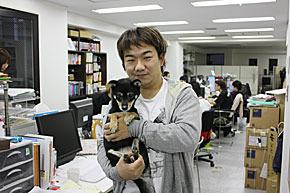 """「社員犬」導入の今:ビジネス""""ワン""""が社員として活躍する日 (1/2) - ITmedia エンタープライズ (4085)"""