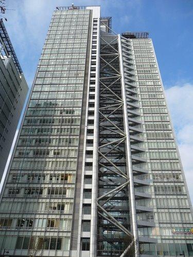 中野坂上サンブライトツインビルの紹介 地図〈アクセス〉と写真 | 東京ビル景 (4293)