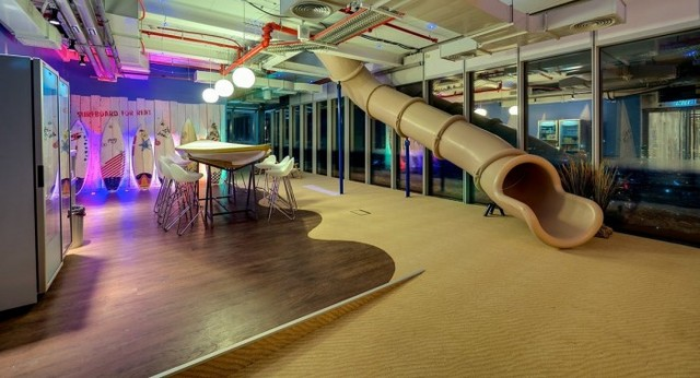 Inside The New Google Tel Aviv Office - Office Snapshots (4859)