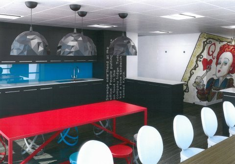 Curiouser and Curiouser: Amazing Alice in Wonderland Offices | OfficeBroker.com (4882)