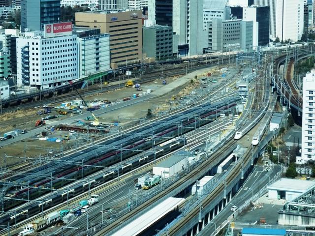 品川~田町間の山手線新駅予定地