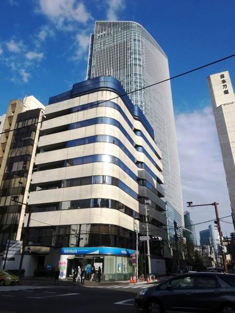 虎ノ門新駅 南端の交差点