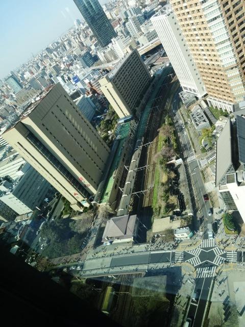 飯田橋グラン・ブルームからの眺望