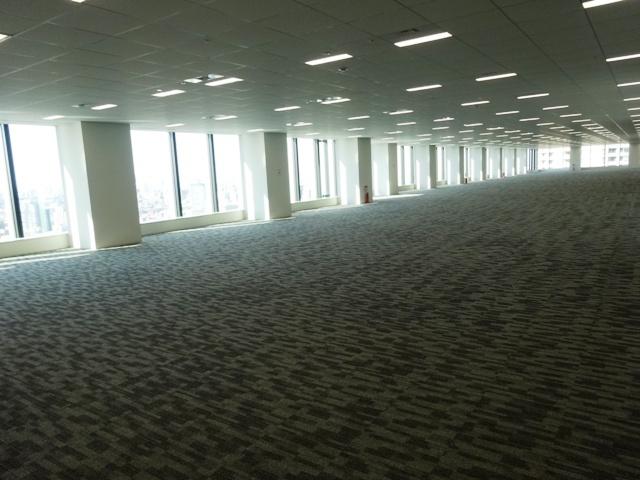 飯田橋グラン・ブルームのオフィスフロア