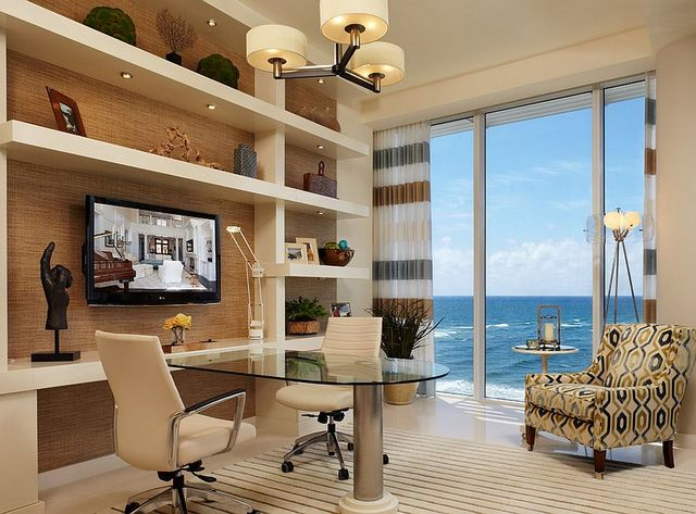 Home Offices with an Ocean View (7035)