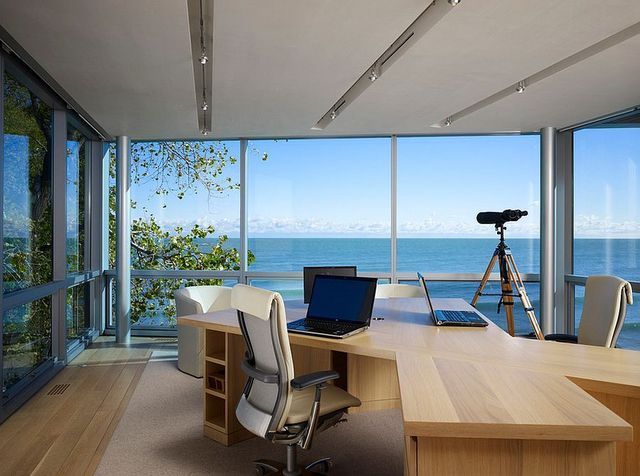 Home Offices with an Ocean View (7036)