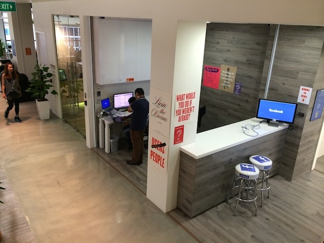 A sneak peek inside Facebook's office in Singapore! (7605)