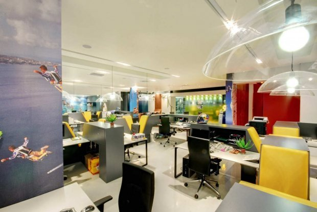 Bright and Dynamic Red Bull's Cape Town Office by COA | Home Reviews (7847)