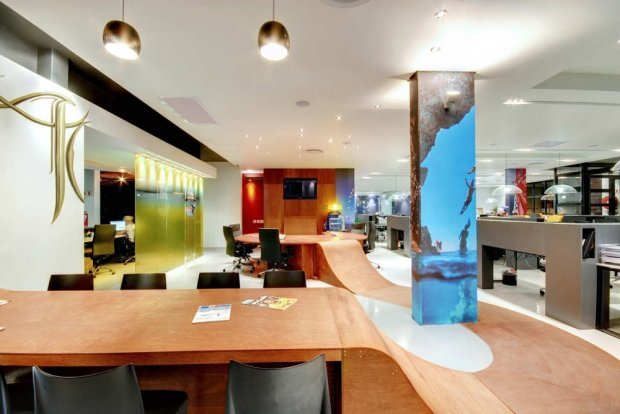 Bright and Dynamic Red Bull's Cape Town Office by COA | Home Reviews (7848)