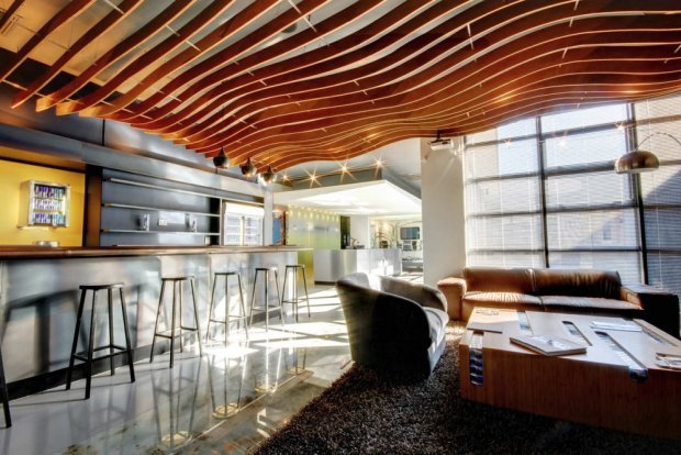 Bright and Dynamic Red Bull's Cape Town Office by COA | Home Reviews (7850)