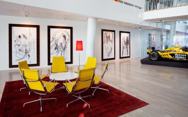 Inside Saxo Bank's Art-filled Headquarters - Office Snapshots (7929)