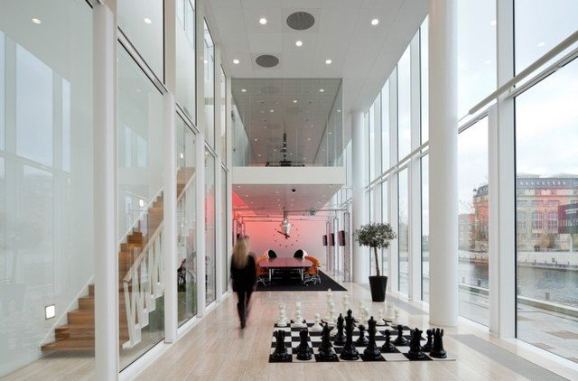 Inside Saxo Bank's Art-filled Headquarters - Office Snapshots (7935)