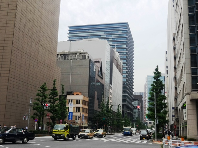 京橋・東京駅方面の眺望