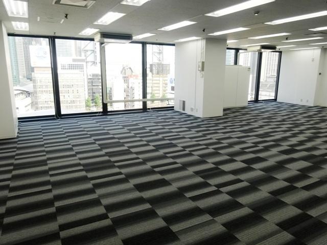 ニュー新橋ビルのオフィスフロア