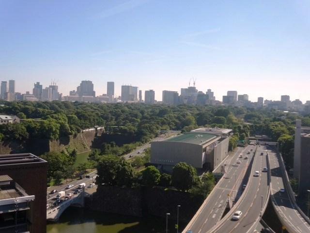 住友商事竹橋ビル 西側の眺望