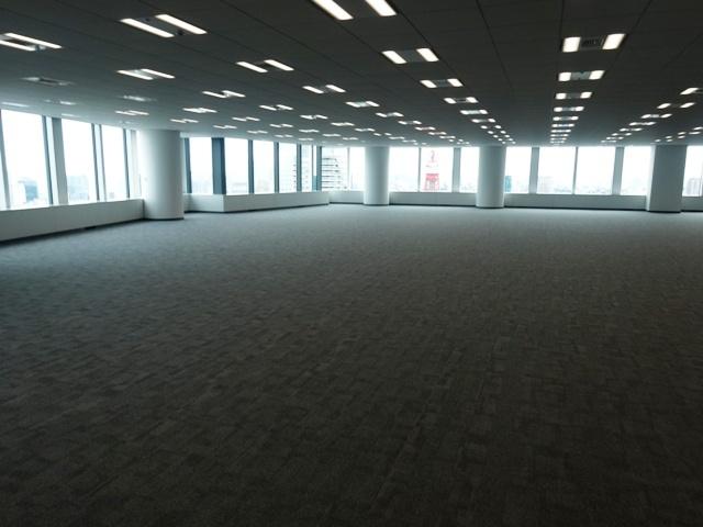 虎ノ門ヒルズのオフィスフロア